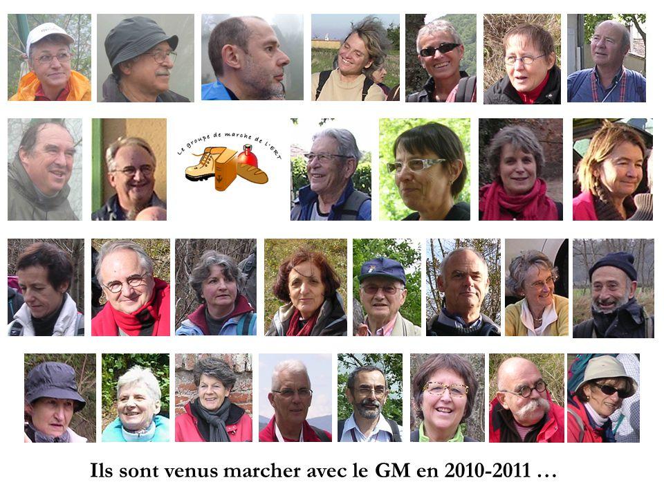 Ils sont venus marcher avec le GM en 2010-2011 …
