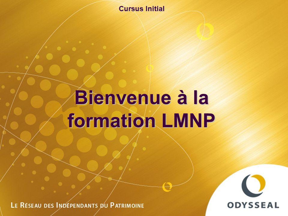 Formation initiale Odysseal 20100623 Cursus Initial Bienvenue à la formation LMNP