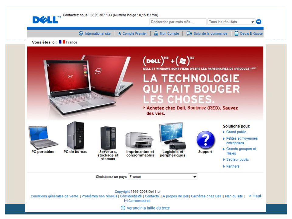 Mise en ligne du site : 1999 Parts de marché : 6,1% Cible : Particuliers et professionnels Match 2 : Page d'accueil/Apple