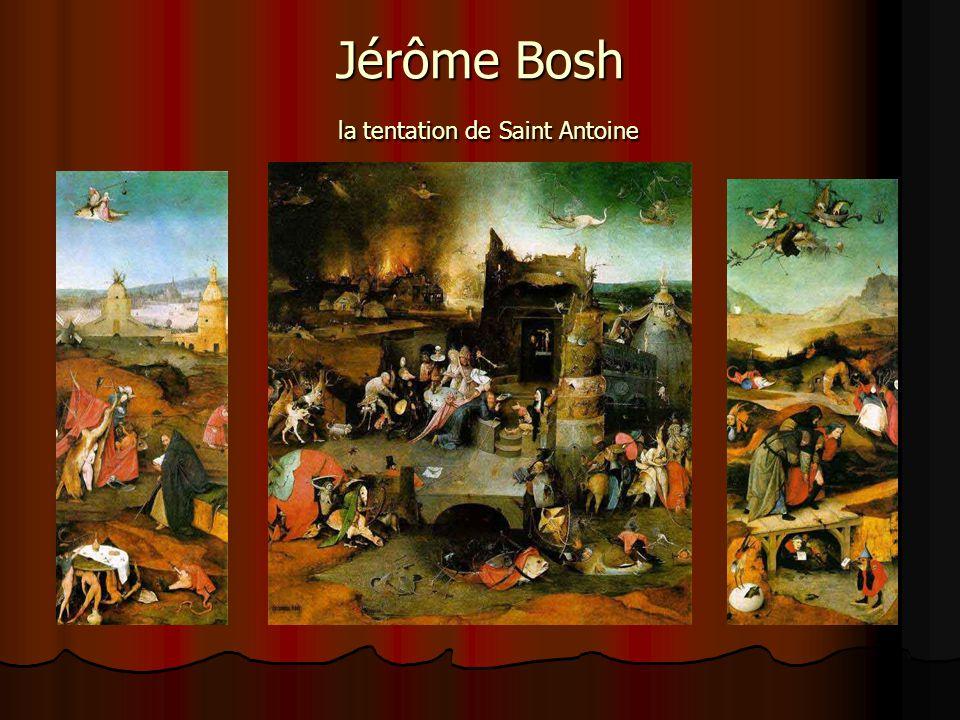Jérôme Bosh la tentation de Saint Antoine