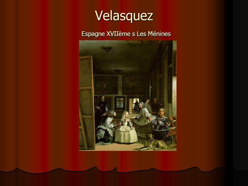 Velasquez Espagne XVIIème s Les Ménines