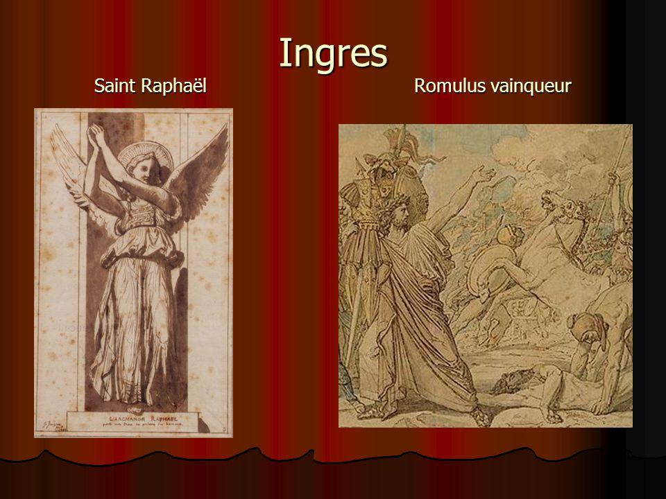 Ingres Saint Raphaël Romulus vainqueur