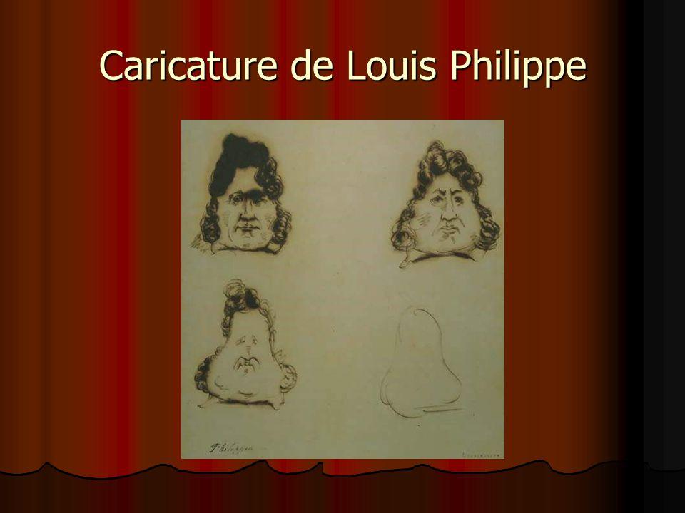 Caricature de Louis Philippe