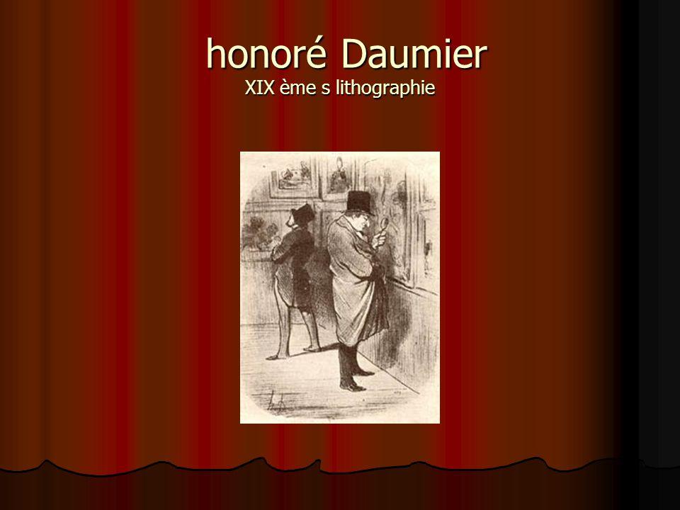honoré Daumier XIX ème s lithographie honoré Daumier XIX ème s lithographie
