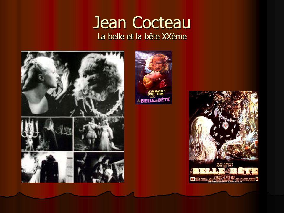 Jean Cocteau La belle et la bête XXème