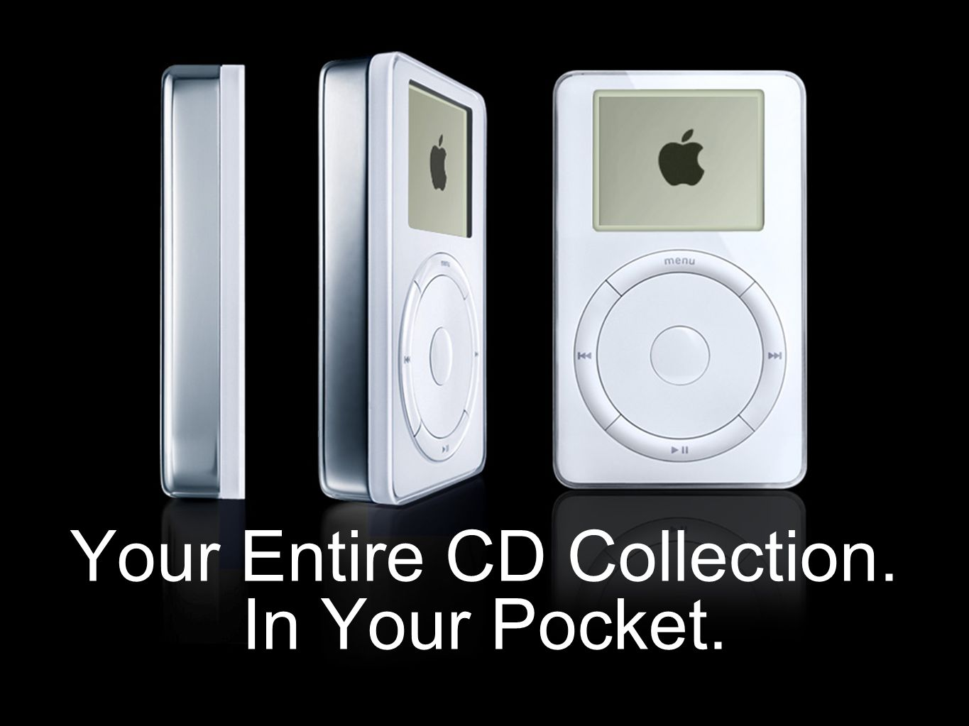Your Entire CD Collection. In Your Pocket.