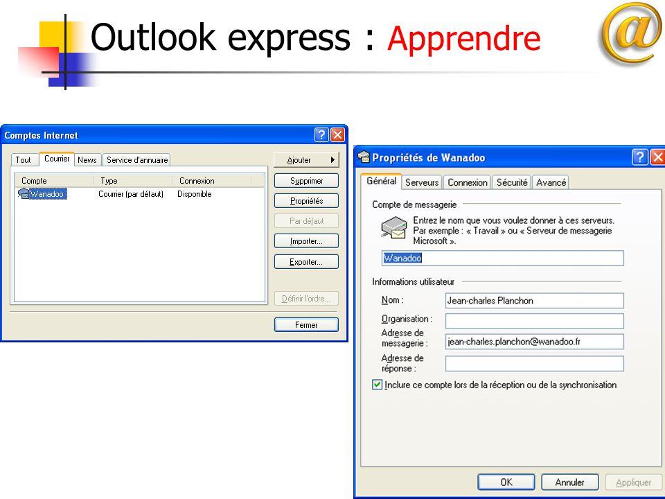 16 Outlook express : Apprendre