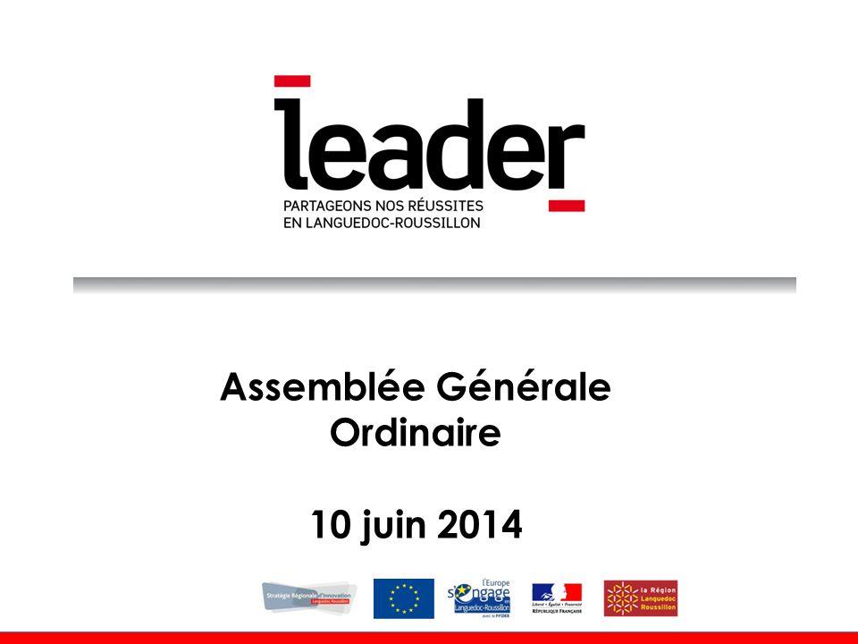 Assemblée Générale Ordinaire 10 juin 2014