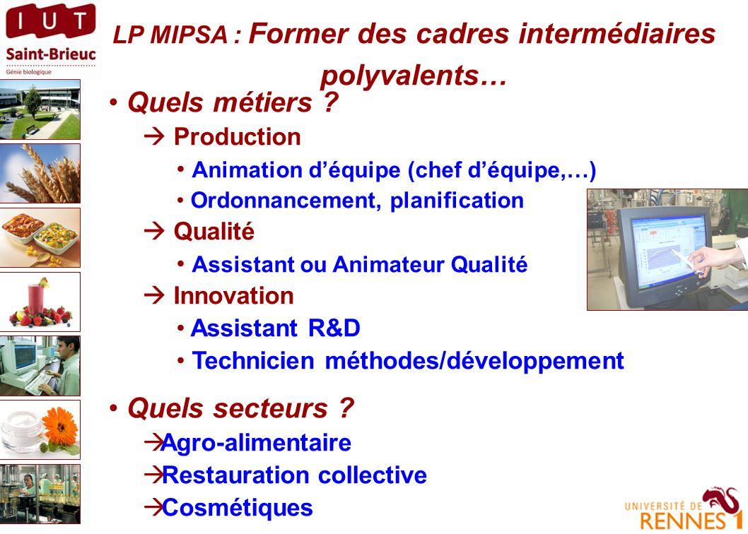 LP MIPSA Pour qui .