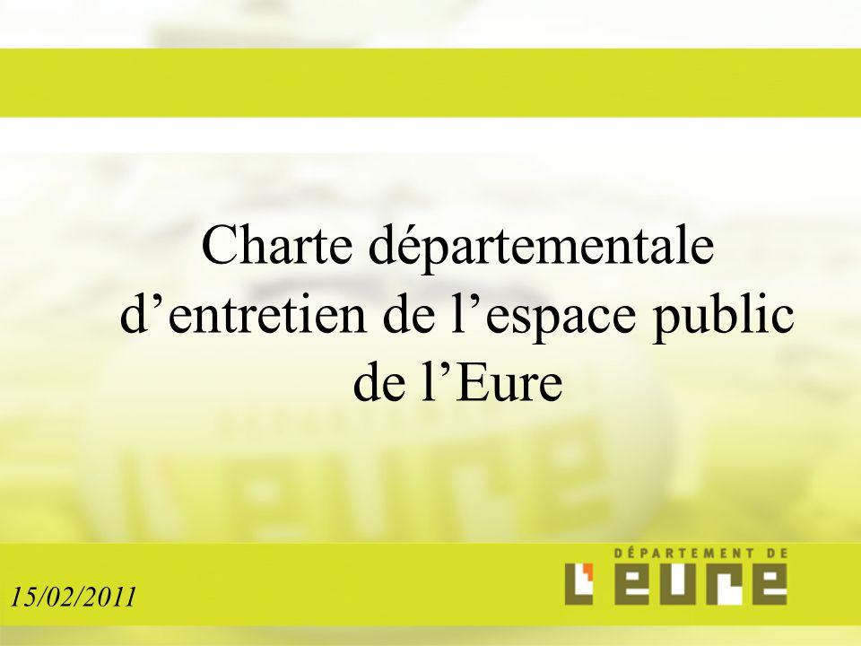 Charte départementale d'entretien de l'espace public de l'Eure 15/02/2011