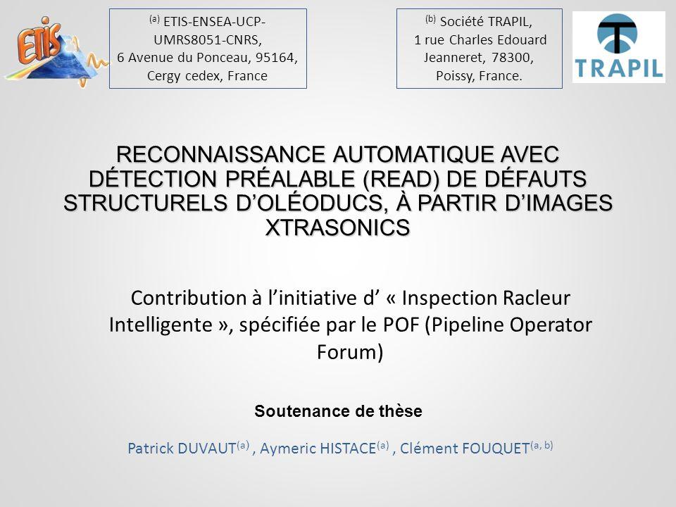 Soutenance de thèse 42READ_fault C.Fouquet, A. Histace, P.