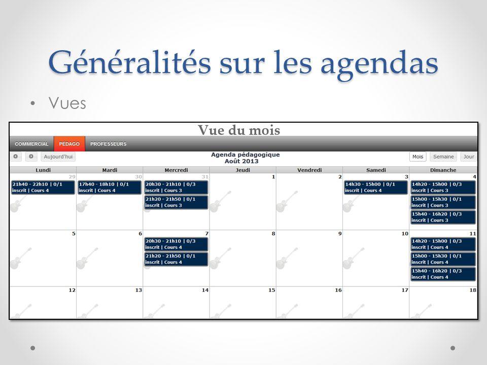 Agenda pédagogique Déplacement d'un cours après le suivant Vous vous apprêter à déplacer le cours sur un autre créneau de plus d une semaine.