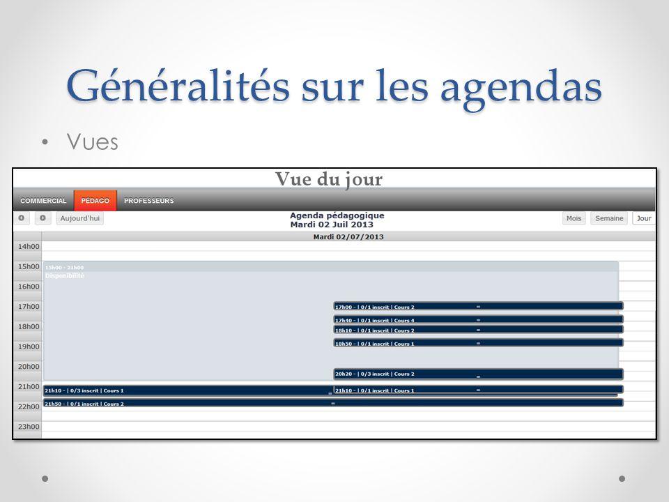 Agenda commercial