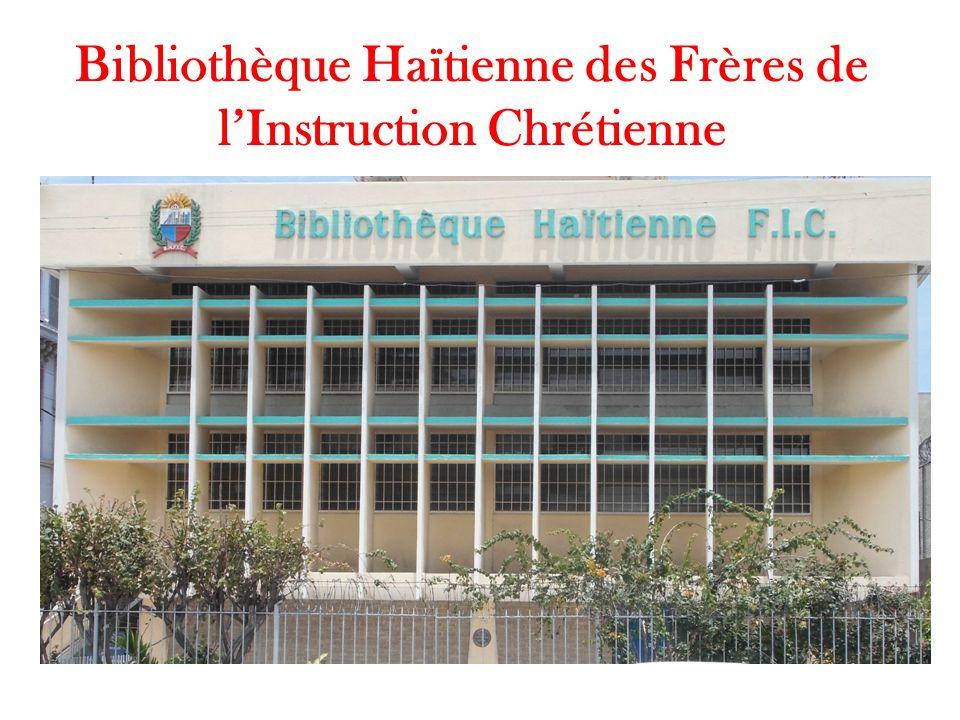 Bibliothèque Haïtienne des Frères de l'Instruction Chrétienne