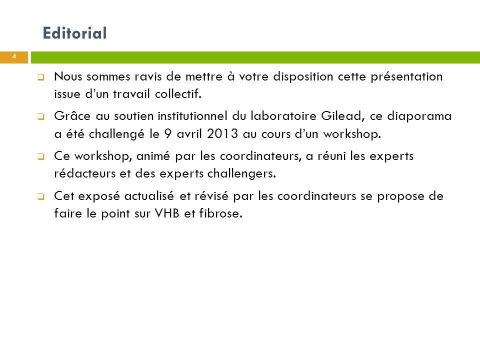 HISTOIRE NATURELLE DE LA FIBROSE AU COURS DE L'HÉPATITE B F.