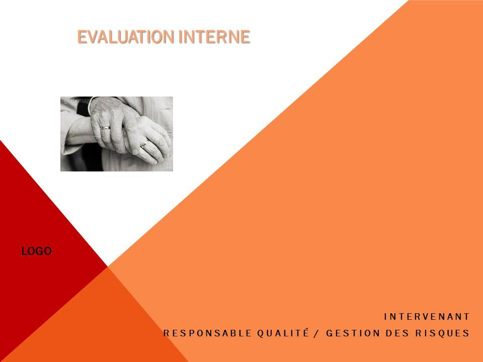 INTERVENANT RESPONSABLE QUALITÉ / GESTION DES RISQUES EVALUATION INTERNE LOGO