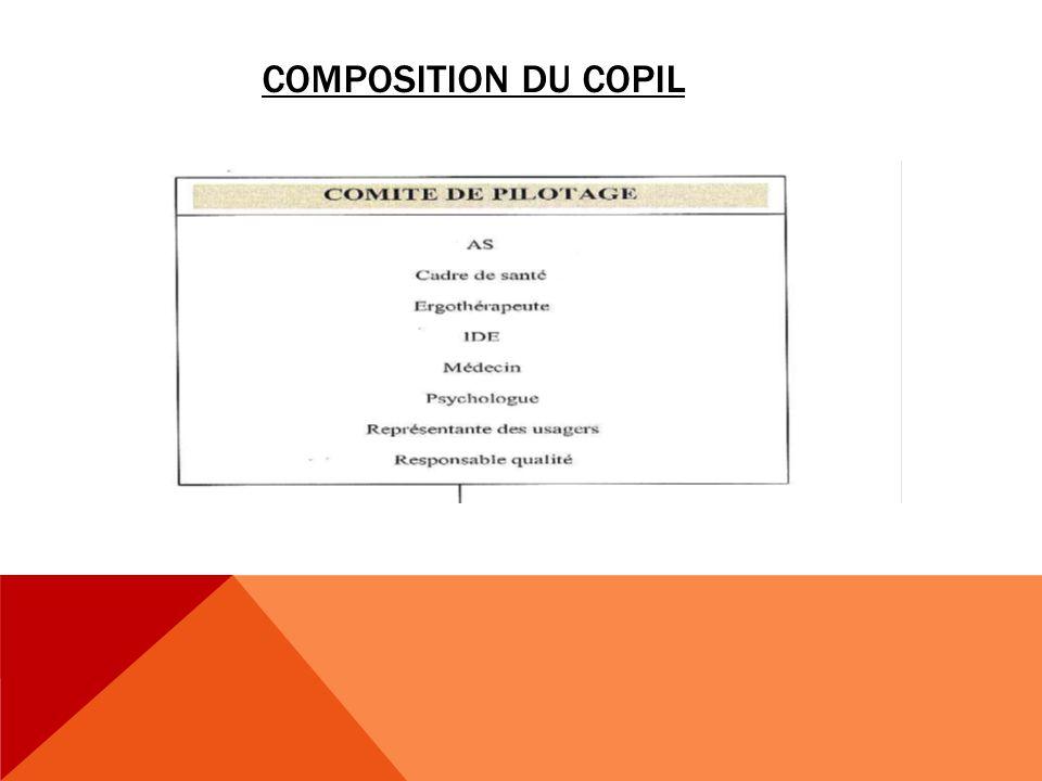 COMPOSITION DU COPIL