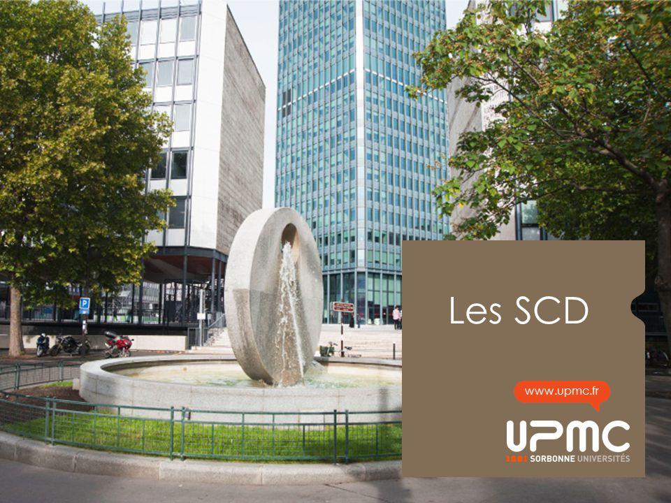 Les SCD www.upmc.fr