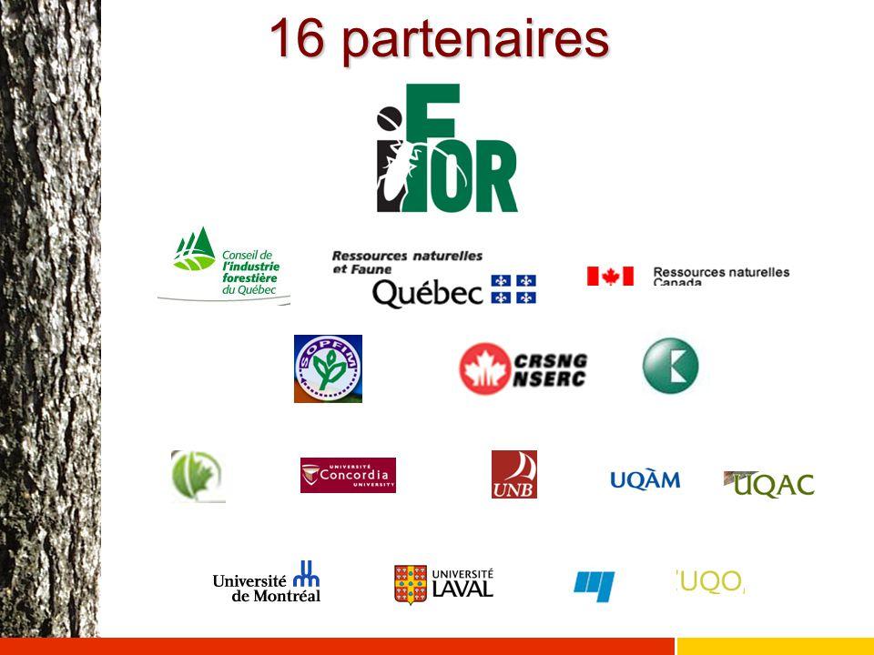 16 partenaires