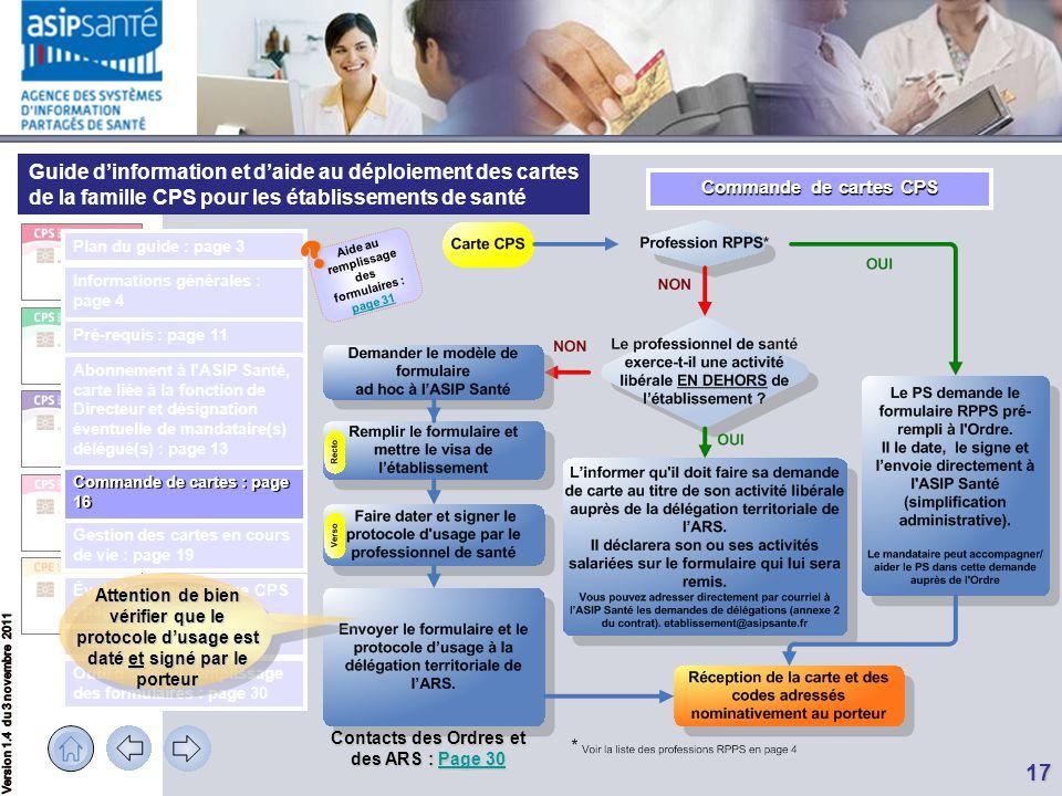 Guide d'information et d'aide au déploiement des cartes de la famille CPS pour les établissements de santé Évolutions du système CPS : page 21 Outil d