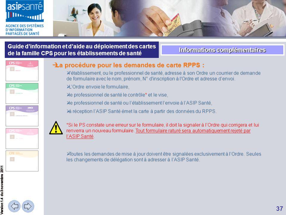 Guide d'information et d'aide au déploiement des cartes de la famille CPS pour les établissements de santé  La procédure pour les demandes de carte R