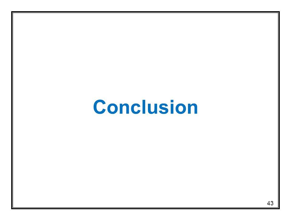 Conclusion 43