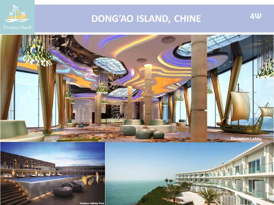 DONG'AO ISLAND, CHINE 4Ψ