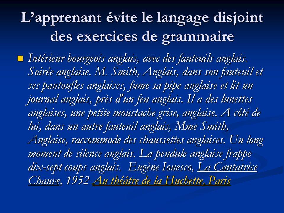 L'apprenant évite le langage disjoint des exercices de grammaire Intérieur bourgeois anglais, avec des fauteuils anglais. Soirée anglaise. M. Smith, A