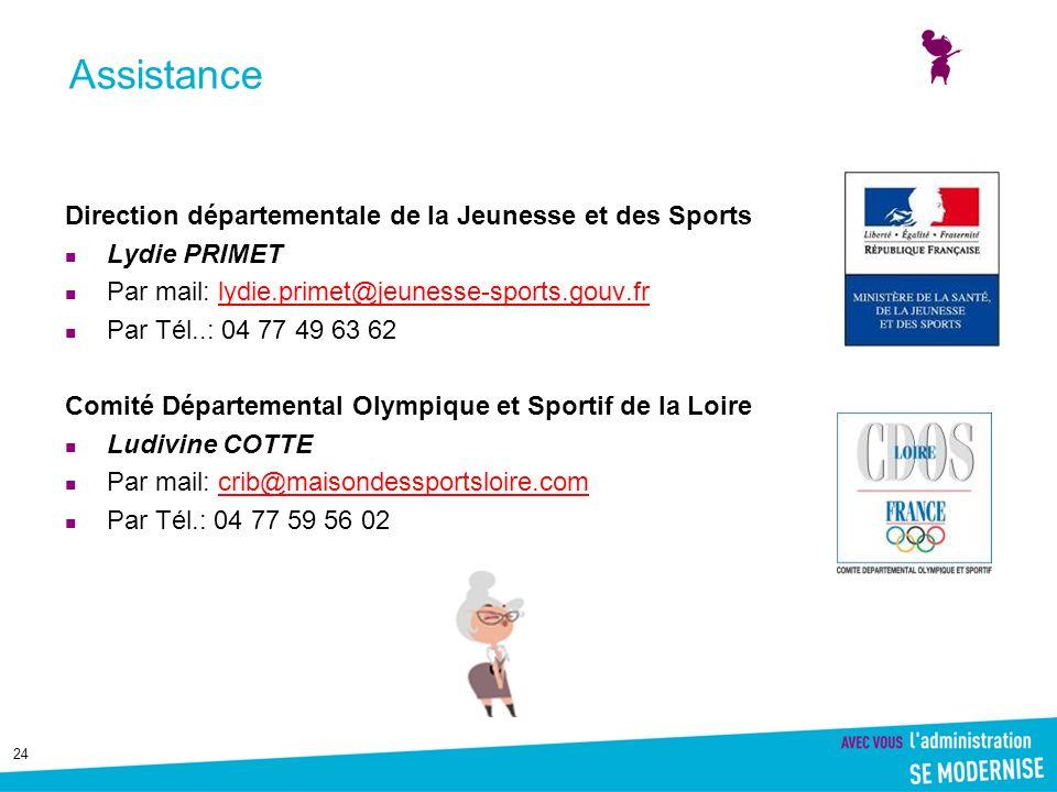 24 Direction départementale de la Jeunesse et des Sports Lydie PRIMET Par mail: lydie.primet@jeunesse-sports.gouv.frlydie.primet@jeunesse-sports.gouv.