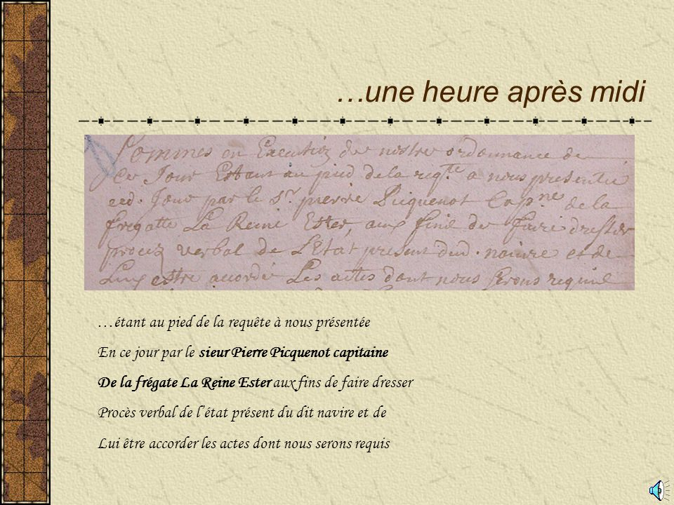 Signature de Pierre Picquenot