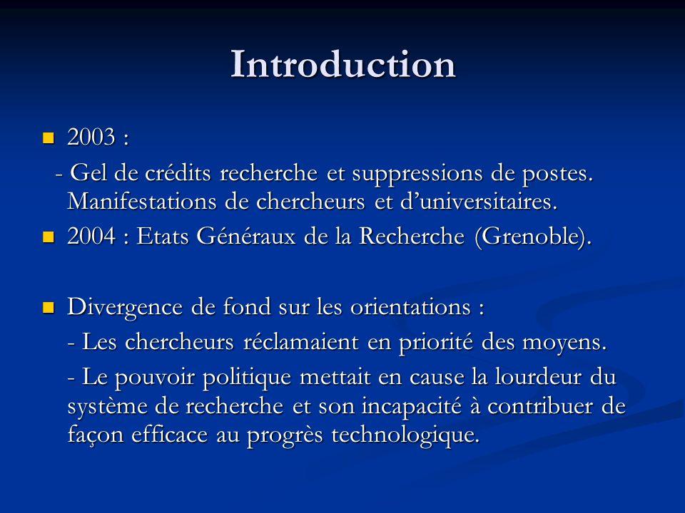 Au terme d'une longue évolution Le CNRS est pour les universités un organe de validation plus que d'impulsion.