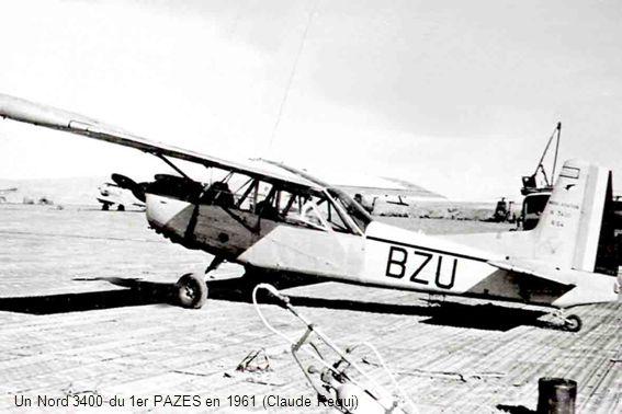 Un Nord 3400 du 1er PAZES à Djelfa en 1961 (Daniel Rougeau)