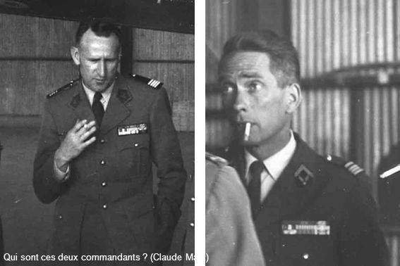 Qui sont ces deux commandants ? (Claude Marx)