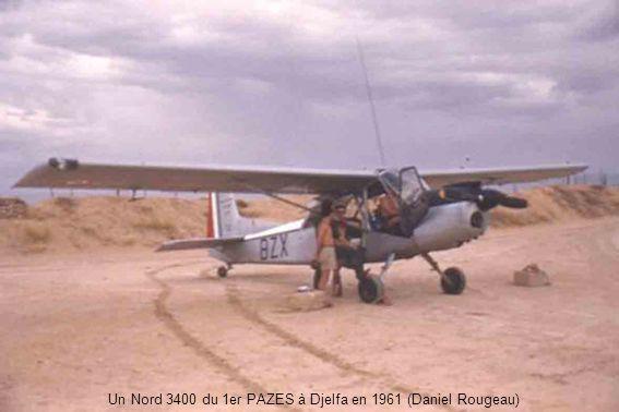 Créé le 1er juin 1958 à Chéragas, PA SO (Peloton d avions du Secteur des Oasis) perçoit six L-18 et deux L-19 en juillet et août.