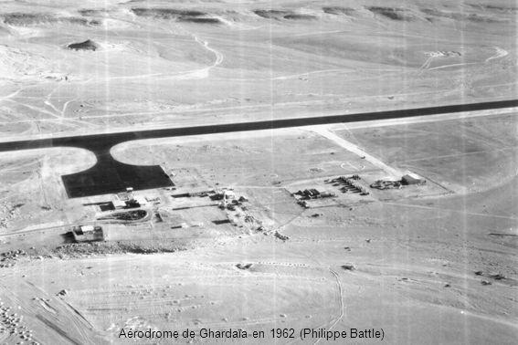 Aérodrome de Sidi-Bel-Abbès en 1961 (Alain Crosnier)