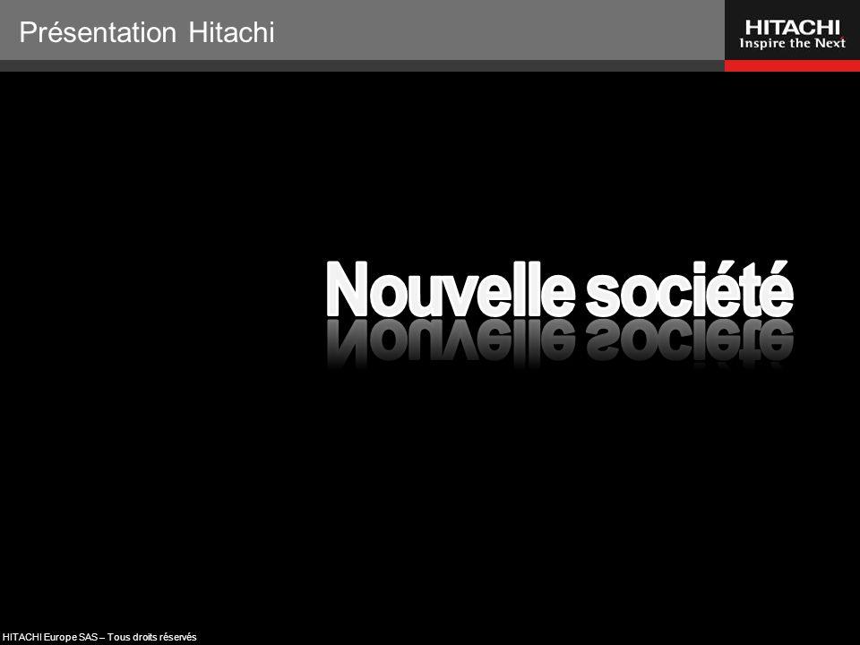 HITACHI Europe SAS – Tous droits réservés * * Inspirer l'avenir Chauffage & Climatisation Merci de votre attention