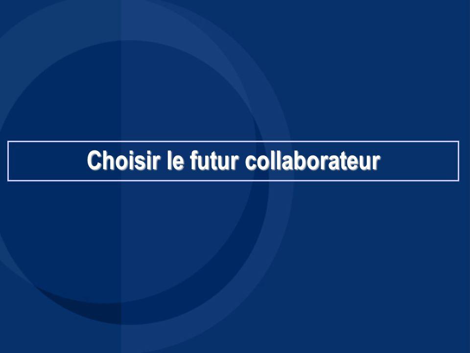 Choisir le futur collaborateur