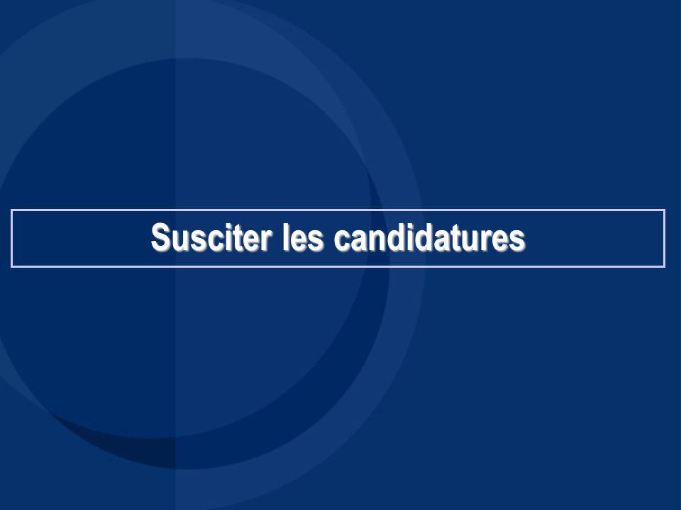 Recherche interne 1.Collaborateurs: - Souhaits personnels - Souhaits d'évolution de carrière (mobilité fonctionnelle, géographique…) - Outils: entretien annuel, Comité « Carrières »….