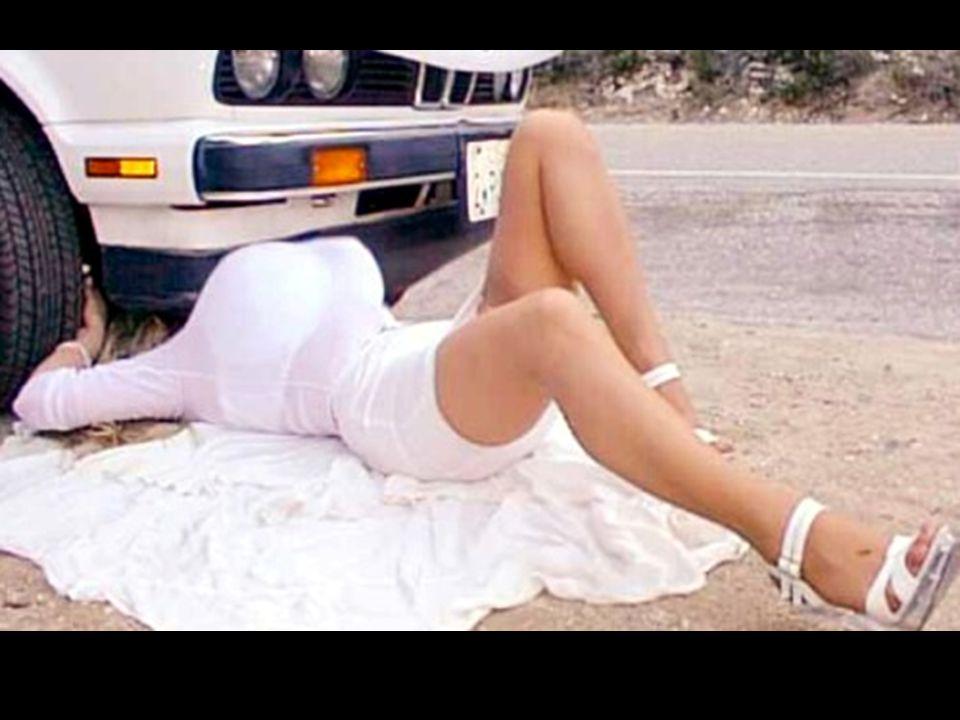 Pourquoi les femmes ne peuvent-elles pas réparer une voiture automobile ???