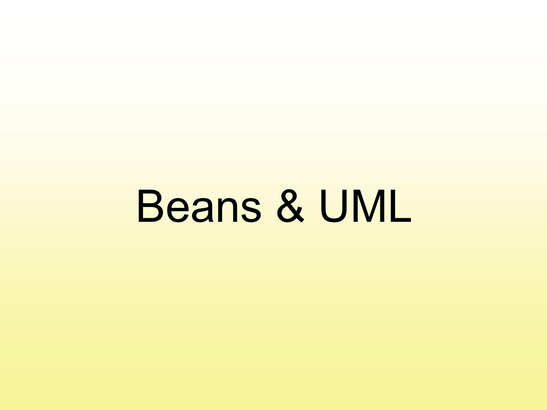 Beans & UML