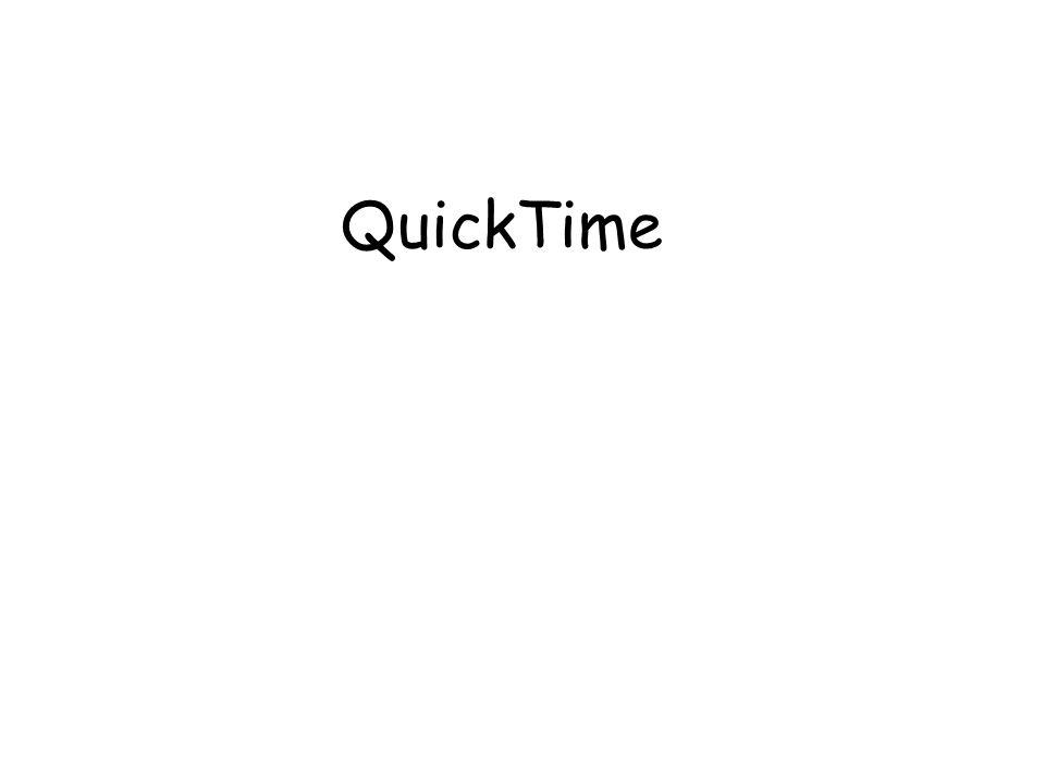 Premier environnement de vidéo numérique d'Apple QT 1.0 en 1991 : vidéos 160x120 !.