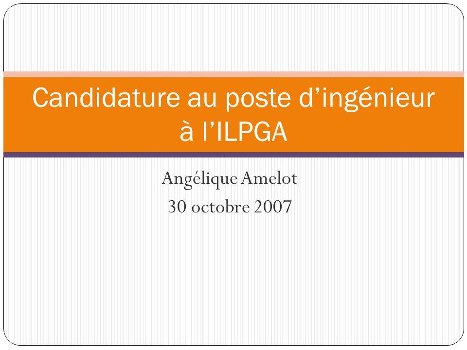 Utilisation de données Echographiques Audition Poste Ingénieur de l ILPGA 32