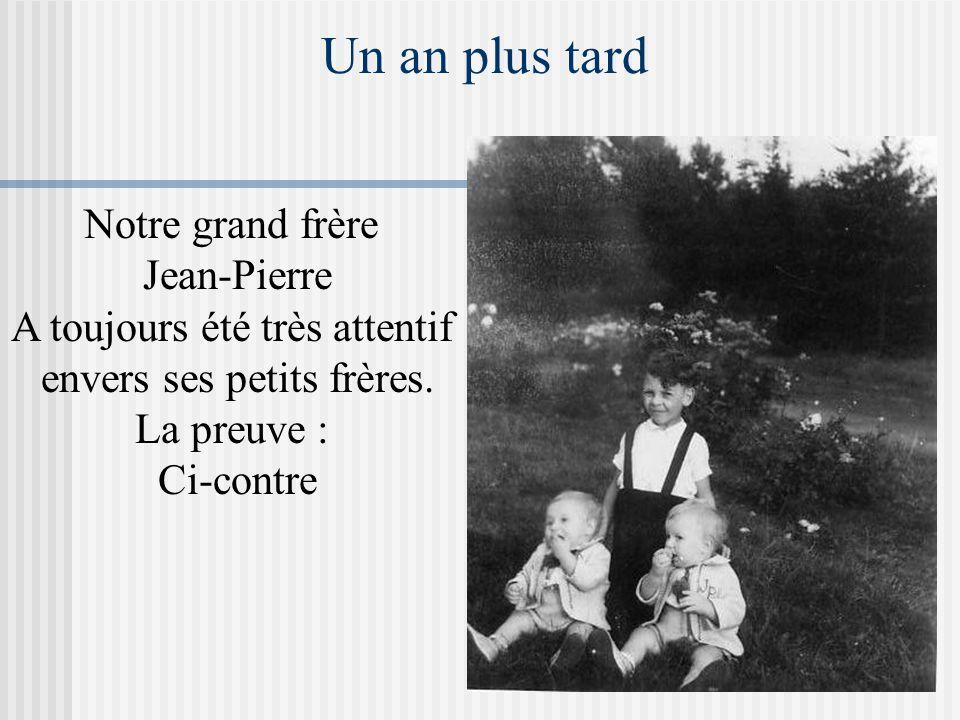Mariage d'André et d'Odette C'était l'époque des grosses larmes, le 2 ème jumeau ne tardera pas à faire pareil