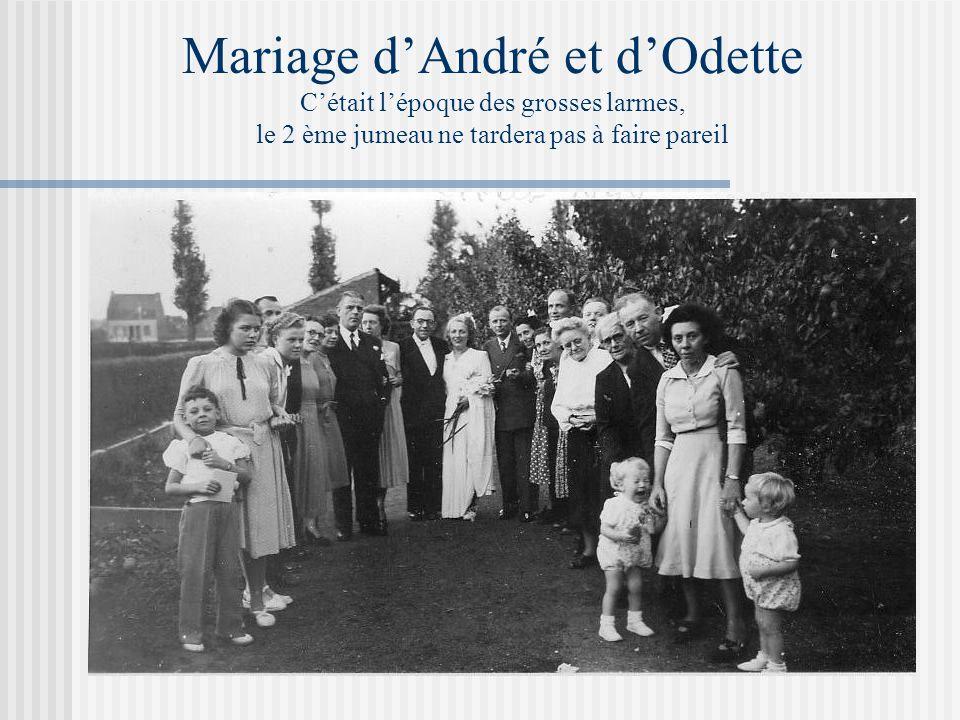 Nos vacances en 1956 Séjour à Corbeil, où nous avions recueilli un épagneul breton abandonné