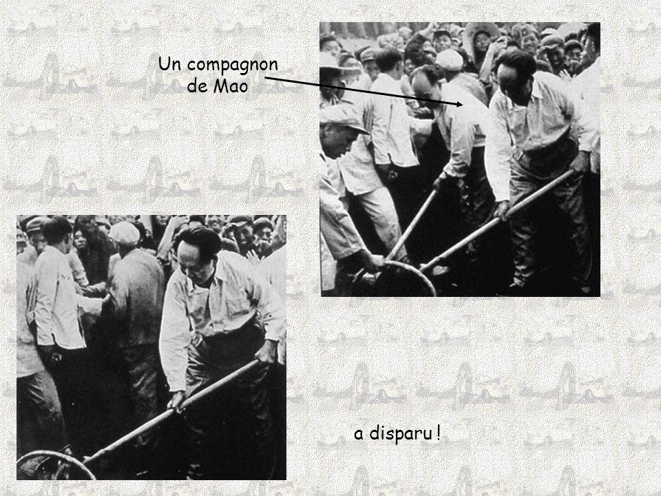 Un compagnon de Mao a disparu !