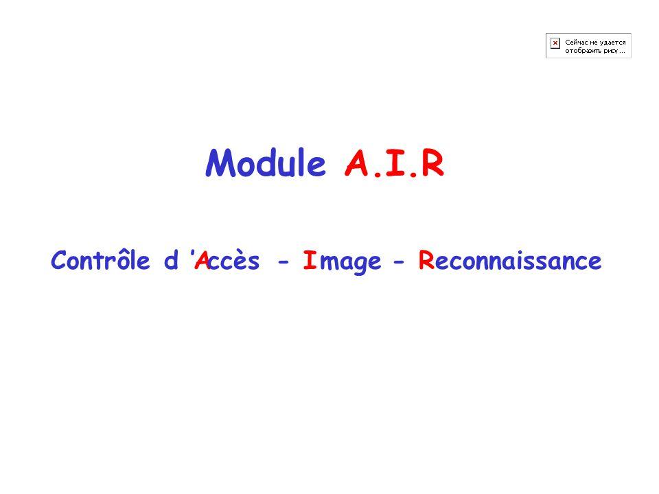 Module A.I.R AIRContrôle d ' ccèsmageeconnaissance--