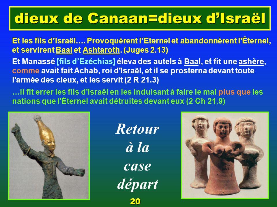 … aussi idolâtre que son grand p è re 7 Et l'image de l'ashère [statue] qu'il avait faite, il la plaça dans la maison de laquelle l'Éternel avait dit