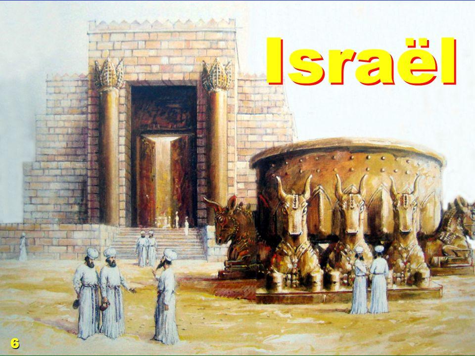 … aussi idolâtre que son grand p è re 7 Et l image de l ashère [statue] qu il avait faite, il la plaça dans la maison de laquelle l Éternel avait dit à David et à Salomon, son fils: C est dans cette maison, et dans Jérusalem que j ai choisie d entre toutes les tribus d Israël, que je mettrai mon nom à toujours; [1R 9.3 j ai sanctifié cette maison que tu as bâtie, pour y mettre mon nom à jamais; et mes yeux et mon coeur seront toujours là] 8 et je ne ferai plus errer le pied d Israël loin de la terre que j ai donnée à leurs pères, si seulement ils prennent garde à faire selon tout ce que je leur ai commandé, et selon toute la loi que leur a commandé mon serviteur Moïse.