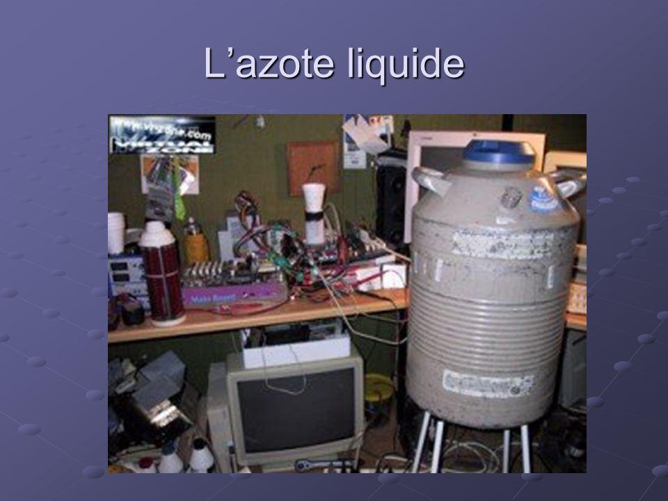 L'azote liquide