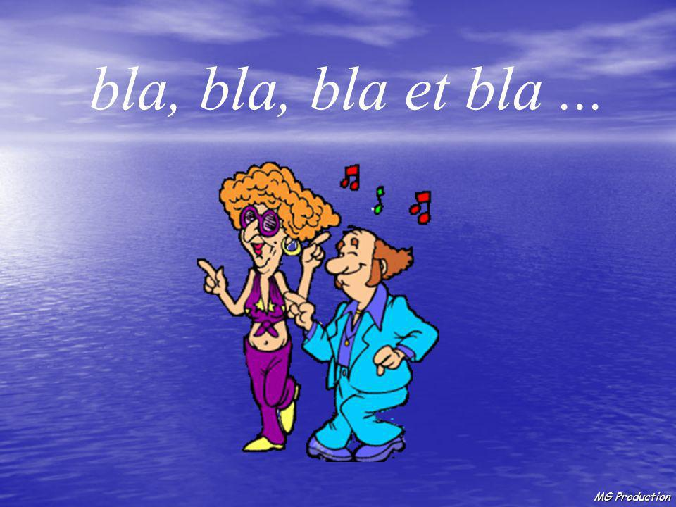 MG Production Que la paix, Que la santé, Que la chance, Que l'amour, Que ceci, Que cela...